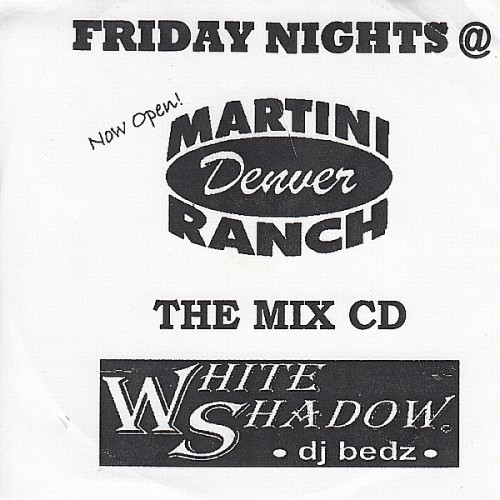 DJ Bedz - Martini Ranch Mix CD
