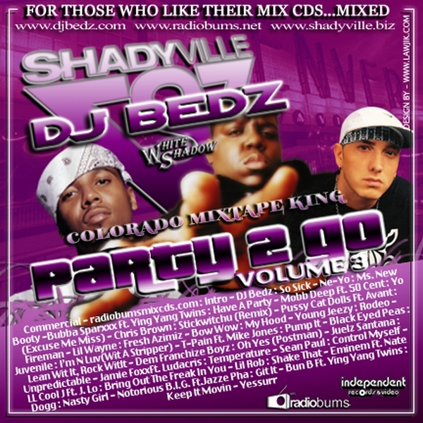 Party To Go Volume 3 Dj Bedz