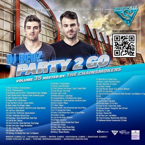 DJ Bedz - PTG #35 500 x 500